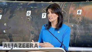 US accuses Iran of violating UN resolutions