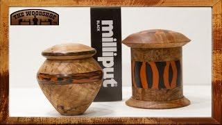 Milliput Epoxy Inlay- Lidded Boxes