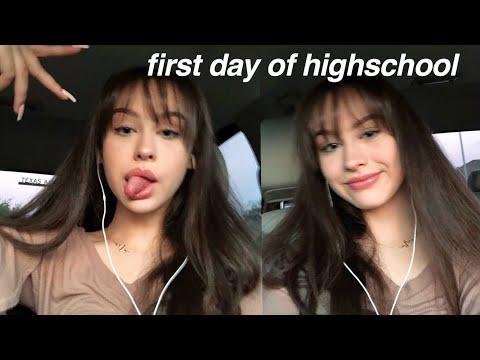 Xxx Mp4 GRWM FIRST DAY OF HIGHSCHOOL Freshman 3gp Sex