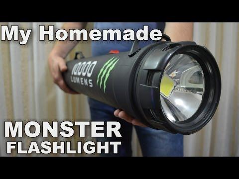 Xxx Mp4 Monster 10 000 Lumens 1000w Equiv LED Flashlight 3gp Sex