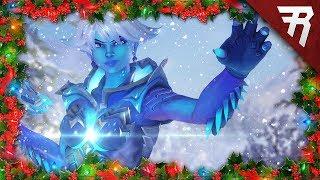 New Skins, Cosmetics, Game Mode Showcase: Overwatch Winter Wonderland Christmas 2017 Event Gameplay