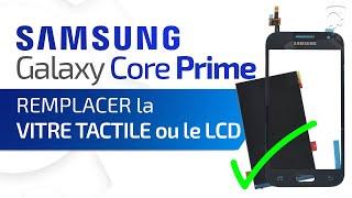 Tutoriel Samsung Galaxy Core Prime : remplacer la vitre tactile et/ou l