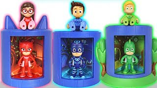 PJ Masks! Become a more perfect superhero at transforming base! - DuDuPopTOY