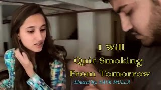 No Smoking Campaign I Hindi Short Film (with subtitle) -Will Quit Smoking From Tomorrow
