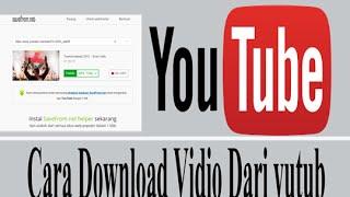 Cara download vidio dari youtube
