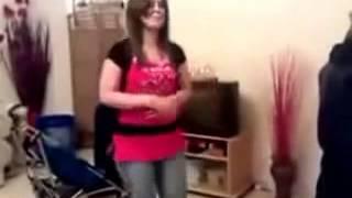 رقص بنات فى المنزل 2013   رقص منازل خليجي   رقص بنت موزة في البيت Belly Dance