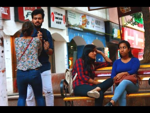 Girl Slapping and Harassing A Guy In Public | Social Experiment |
