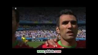 Mehrdad Pouladi against Argentina