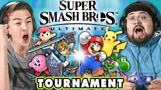Super Smash Bros. Ultimate TOURNAMENT! | React: Gaming