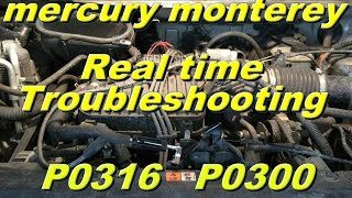 Mercury Monterey P0316 P0300  Part 1