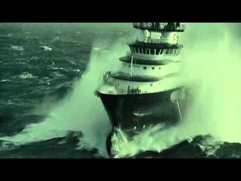 En un mar picado las Im genes de este video son Impresionantes YouTube