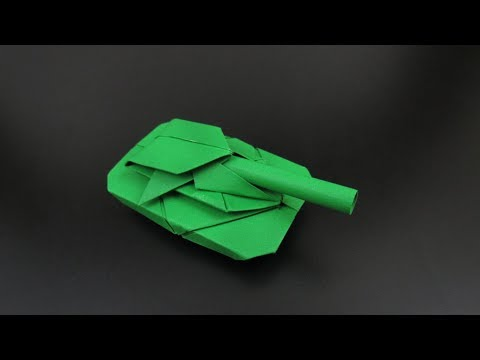 Origami: Battle Tank - Instructions in English (BR) - REMAKE