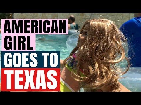 American Girl Doll Lea Clark Travels to Texas