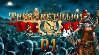 THEY ARE BILLIONS | WALLED COMPOUND #01 Zombie Strategy - Let