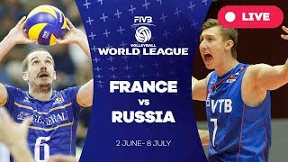 France v Russia - Group 1: 2017 FIVB Volleyball World League