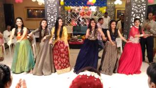 Dance Performance by Groom's Sisters on Sangeet Ceremony