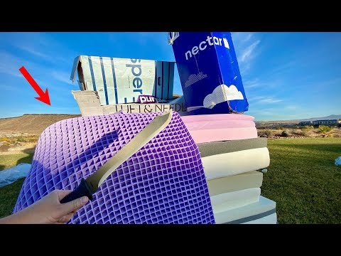 What s inside Purple Mattress
