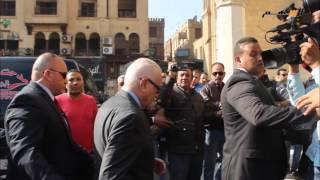 كبار الشخصيات فى تشييع جثمان الصحفى الكبير محمد حسنين هيكل