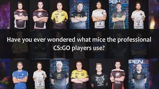 Have you ever wondered what mice the professional CS:GO players use? - 2016 -