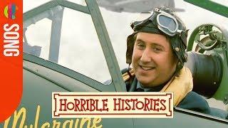 Horrible Histories song - RAF Pilot Song - CBBC