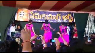 Record dance stage sankranthi special