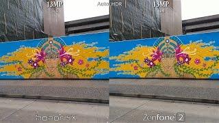 Huawei Honor 5X vs Asus ZenFone 2 - Camera Test Comparison!