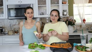 Quinoa Chickpea Lettuce Wraps Salad Recipe - Heghineh Cooking Show