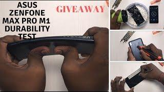 Asus Zenfone Max Pro M1-Durability Test - Flame test , Water Test, Drop Test , Scratch test