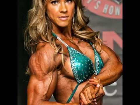 Belas mulheres musculosas