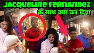 Jacqueline Fernandez supported at airport Bollywood latest news