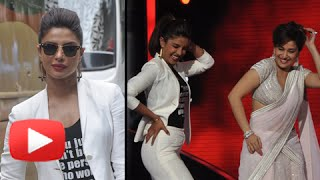 Watch! Priyanka Chopra Dances With Madhuri Dixit On Jhalak Dikhhla Jaa | Mary Kom