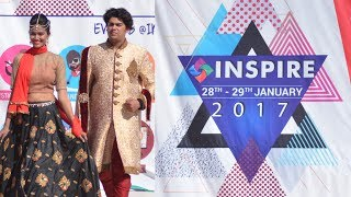 Amazing Annual College Fest  - Inspire 2017 at RNB Global University, Top University in Rajasthan