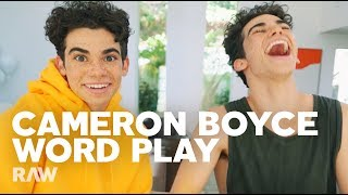Cameron Boyce Interviews Himself for RAW's Word Play - PREVIEW