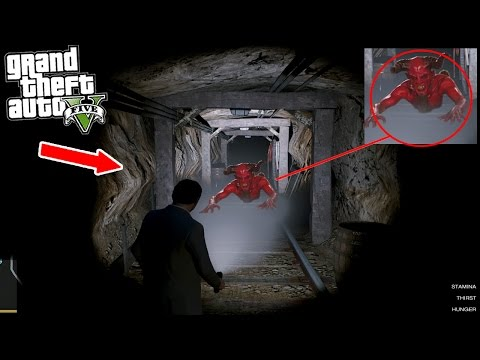 GTA 5 At 3:00 AM THE PORTAL TO HELL OPENS!!! 😱 (GTA 5)