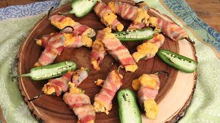Bacon Wrapped Jalapeño Poppers |  Episode 1180
