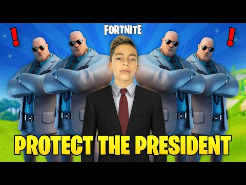 FERRAN is the PRESIDENT in Fortnite He Needs Protection 😱 Royalty Gaming