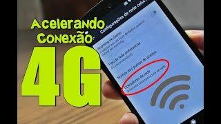 Truque Nativo! Macete para Melhorar o Sinal de Rede de Internet ACELERANDO Sinal 4G no Android
