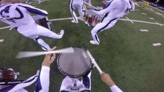Bluecoats 2016 victory run snare cam - Down Side Up - Matt Allen
