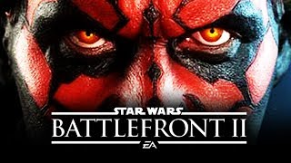 Star Wars Battlefront 2 Mythbusters #1 - DARTH MAUL INSANITY With All New Gameplay