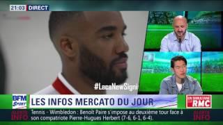After Foot du mercredi 05/07 – Partie 1/7 - Le transfert d'Alexandre Lacazette à Arsenal
