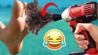 DIY Tickle Weapons!! *EXTREME TRY NOT TO LAUGH* (IMPOSSIBLE)