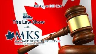 Bill C6 vs Bill C24 - Changes Canadian immigration