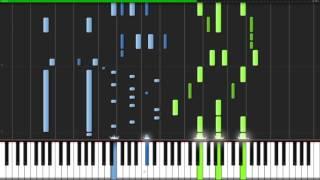 Silhouette & Harumodoki - Naruto x Oregairu [Piano Duet] (Synthesia) // Anifuse