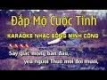 Đắp Mộ Cuộc Tình Karaoke Nhạc Sống Rumba Hay Nhất