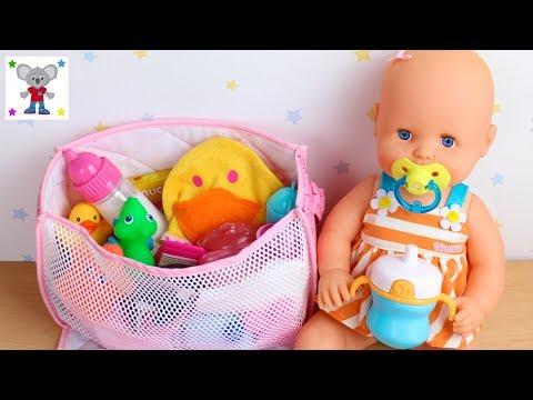 Preparo Bolso Cambiador o Pañalera de mi Bebé NENUCO Emma para ir a un Spa de Bebés