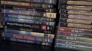 Anime DVDs In Depth Part 06 2nd Bottom Shelf, Front