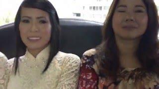 Wedding Huong Pham - Michael - Xe ruoc dau