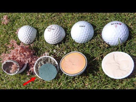 What s inside ILLEGAL Golf Balls