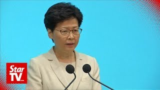 Hong Kong Leader Apologises, Says She Has Heard The People 'loud And Clear'