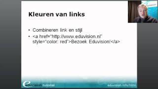 Cursus HTML - links toevoegen en stylen